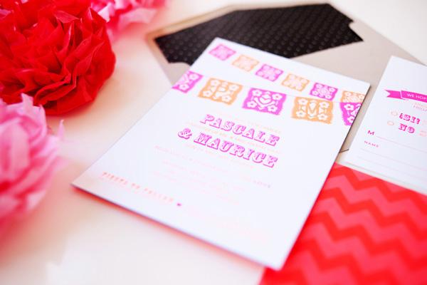 Cinco De Mayo Wedding Invitations idieh design3 Pascale + Maurices Colorful Cinco De Mayo Wedding Invitations