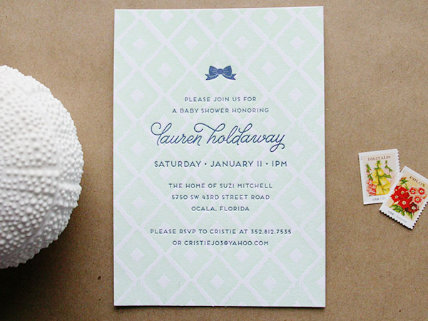 Ikat Gender Neutral Baby Shower Invitations Cheer Up Press2 Laurens Ikat Baby Shower Invitations