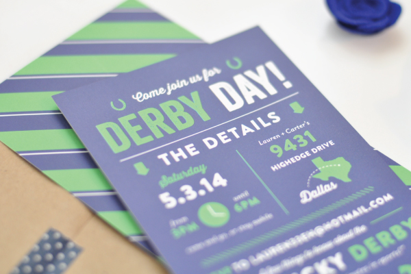 Kentucky Derby Day Invitations Lauren Chism Fine Papers4 Laurens Kentucky Derby Day Party Invitations