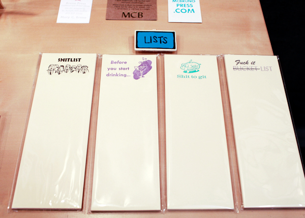 OSBP National Stationery Show 2014 Bruno Press 4 National Stationery Show 2014, Part 4