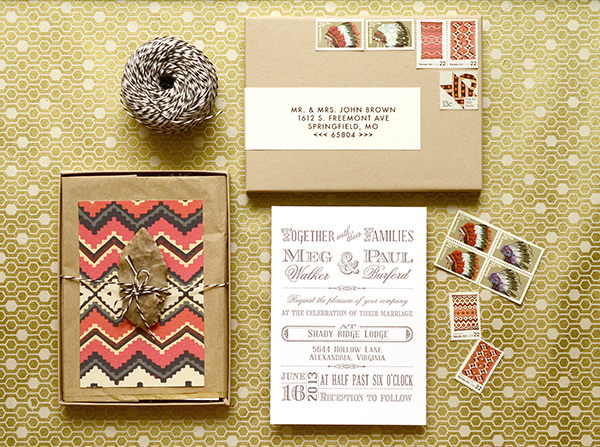 navajo How to Add Your Personal Touch to DIY Wedding Invitations