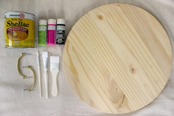 DIY Watermelon Serving Tray OSBP 1 DIY Tutorial: Watermelon Serving Tray