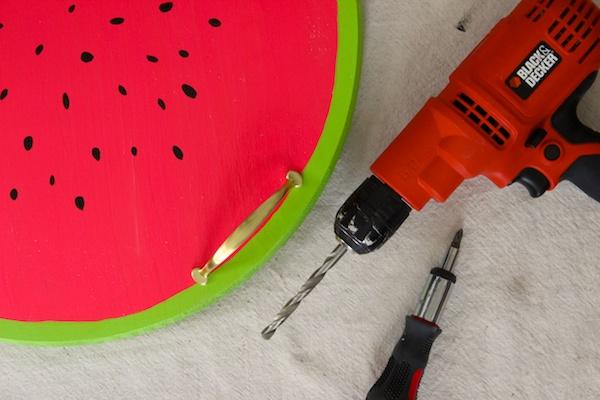 DIY Watermelon Serving Tray OSBP 6 DIY Tutorial: Watermelon Serving Tray