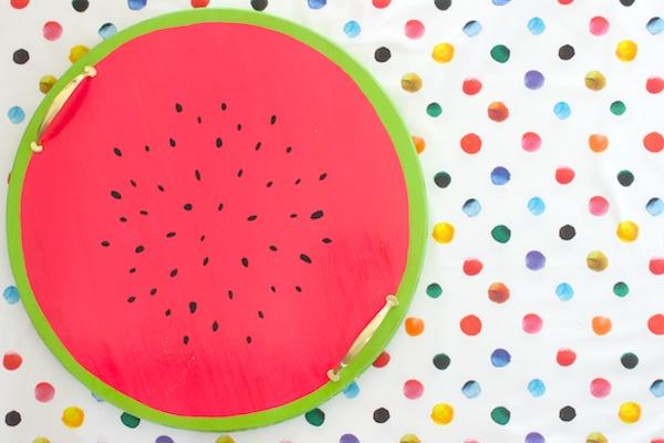 DIY Watermelon Serving Tray OSBP 7 DIY Tutorial: Watermelon Serving Tray