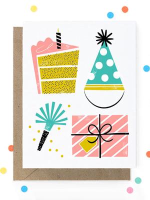 Hooray Today Birthday Party Card Quick Pick: Hooray Today
