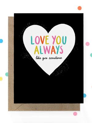 Hooray Today Love Like Card Quick Pick: Hooray Today