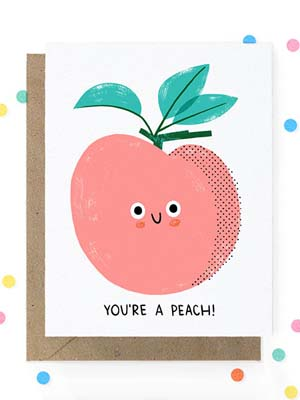 Hooray Today Peach Card Quick Pick: Hooray Today