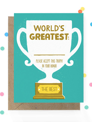 Hooray Today Worlds Greatest Card Quick Pick: Hooray Today