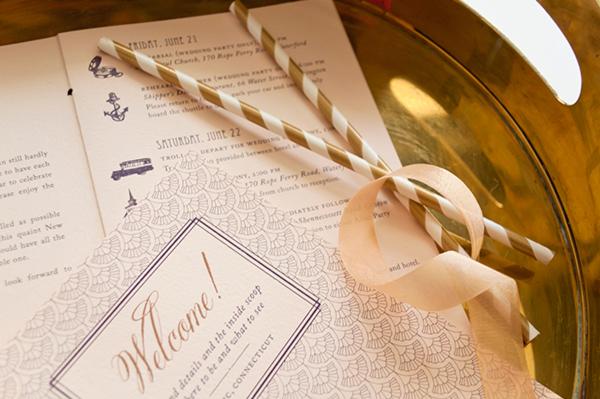 Lasercut Great Gatsby Wedding Invitations Coral Pheasant OSBP7 Nicole + Patricks Vintage Inspired Lasercut Wedding Invitations