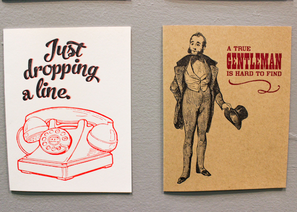 OSBP NSS 2014 Black Heart Letterpress 20 National Stationery Show 2014, Part 13
