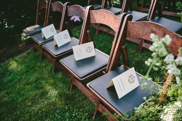 Watercolor Gold Foil Crest Wedding Invitations Roseville Designs OSBP13 Jennifer + Barrons Gold Foil Watercolor Crest Wedding Invitations