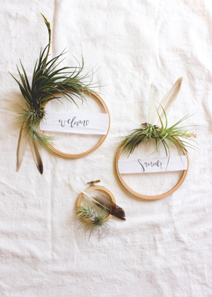 air plant wreath instruction 2 DIY Tutorial: Summer Air Plant Wreath