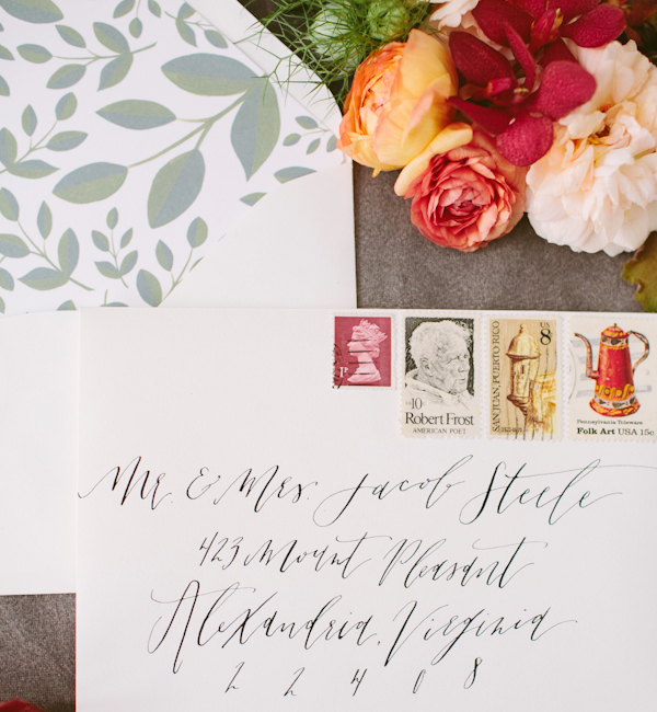 Envelope Inspiration Calligraphy Vintage Stamps OSBP 12 Envelope Inspiration: Calligraphy and Vintage Stamps