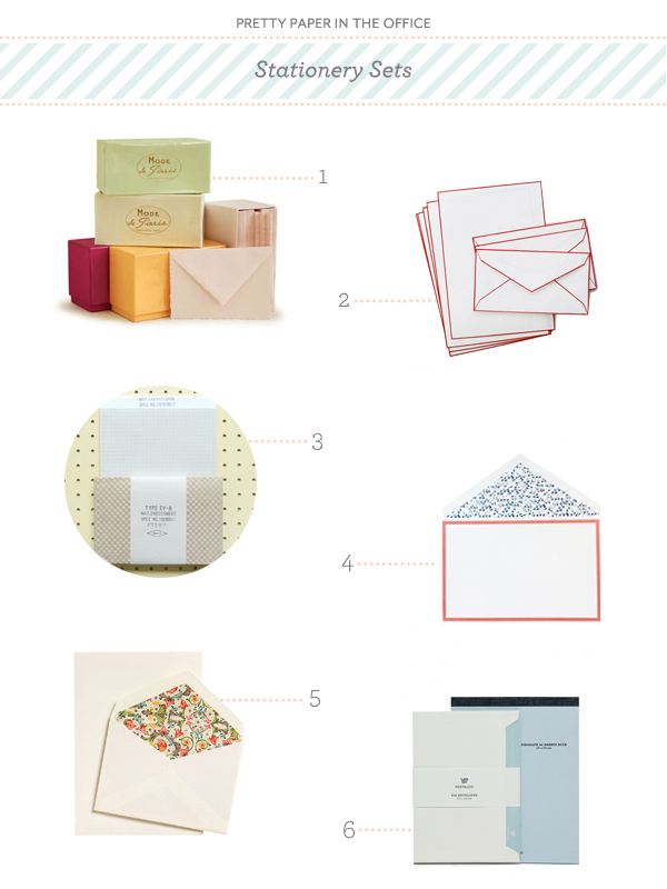 Pretty Paper in the Office Stationery Sets OSBP Pretty Paper in the Office: Stationery Sets