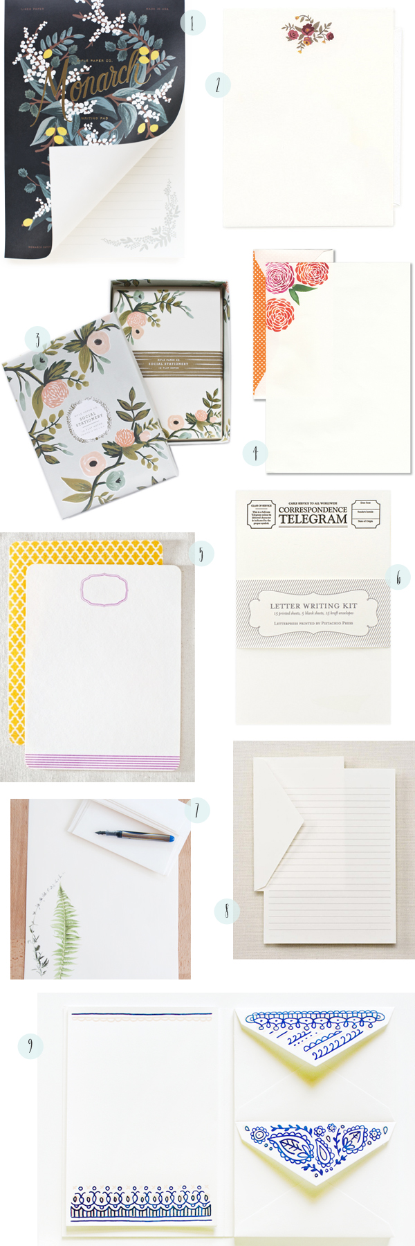 Stationery A Z Writing Sheets OSBP Stationery A Z: Writing Sheets