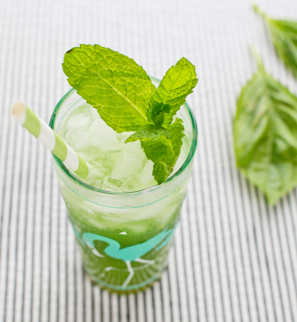 Basil Mint Mojito Cocktail Recipe OSBP 60 Friday Happy Hour: The Basil Mint Mojito