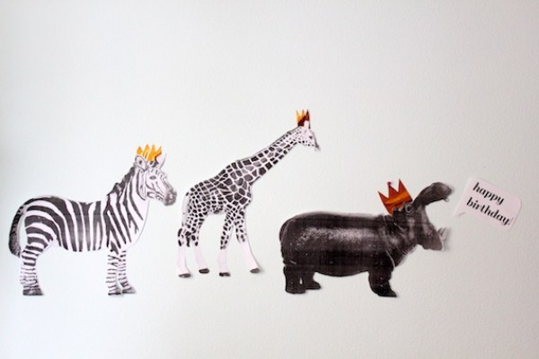 Circus Animal Parade Julep Modern Takes on Classic Kids Party Themes