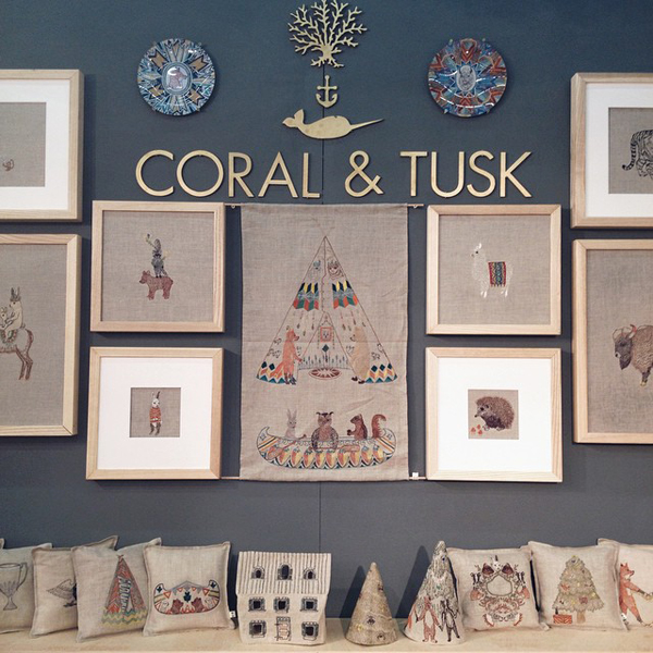 NYNOW Summer2014 CoralandTusk NYNOW Through the Eyes of Gus & Ruby Letterpress