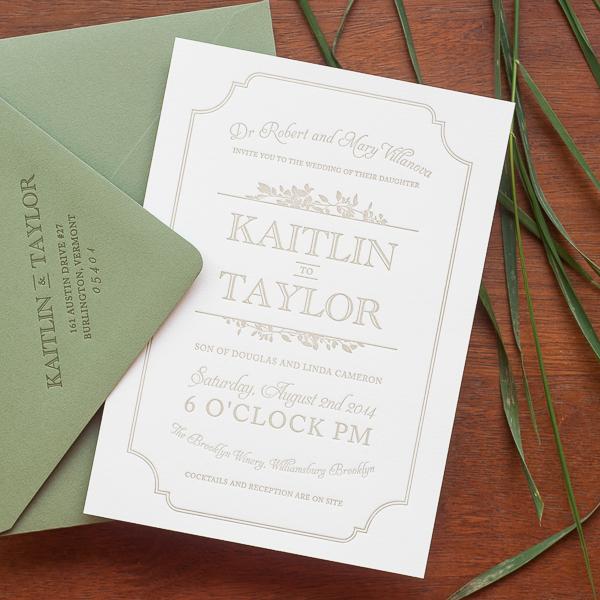 Urban Winery Wedding Invitations Christa Alexander OSBP4 Kaitlin + Taylors Urban Winery Wedding Invitations