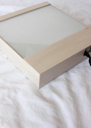 diy lightbox sign 5 DIY Tutorial: Industrial Lightbox Typography Sign