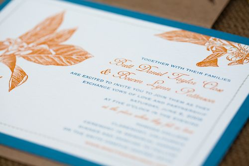 6a00e554ee8a228833011571391d75970c 500wi Citrus + Stitched Wedding Invitations