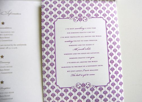 6a00e554ee8a228833011571653acd970b 500wi Purple + Gold Wedding Invitations