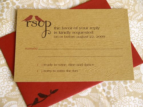 6a00e554ee8a2288330120a57f1b34970c 500wi Carolyn + Alans Rustic Woodgrain Wedding Invitations
