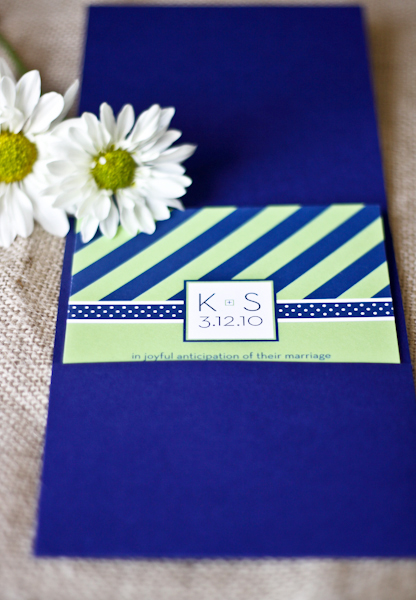 6a00e554ee8a2288330120a5ac6a82970c 500wi Kelly + Seans Preppy Blue and Green Wedding Invitations