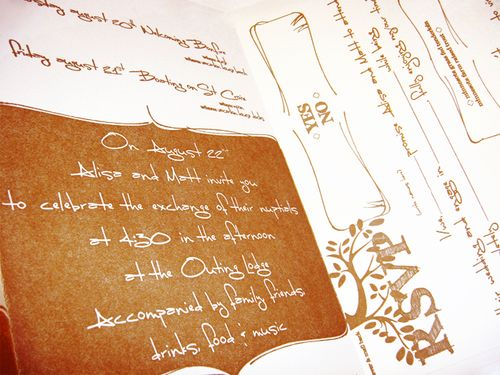 6a00e554ee8a2288330120a61f24cd970c 500wi Alisa + Matts Rustic DIY Wedding Invitations