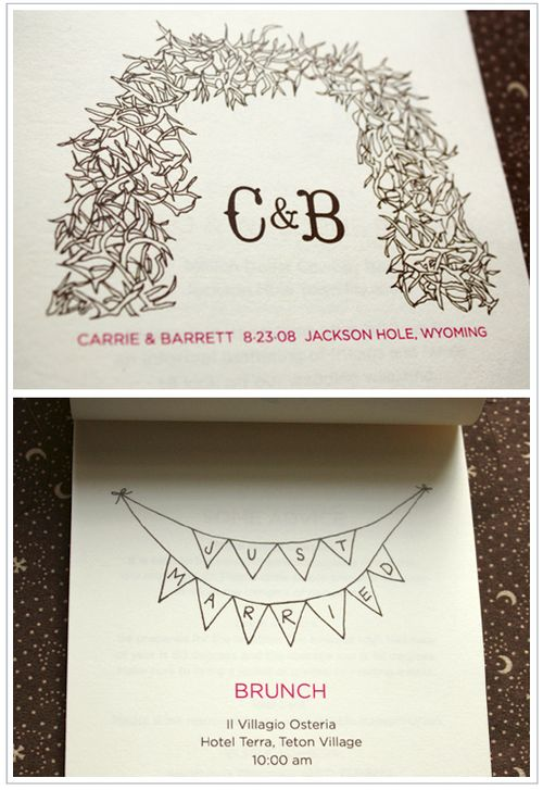 6a00e554ee8a2288330120a679e45f970c 500wi Carrie + Barretts Wood Veneer Mountain Wedding Invitations