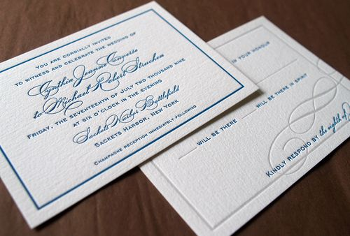 6a00e554ee8a2288330120a6a72205970c 500wi Cyd + Michaels Classic Elegant Wedding Invitations