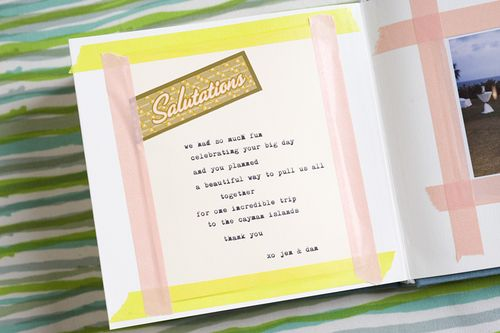 6a00e554ee8a2288330120a7f7c9ad970b 500wi Jen + Dan — Wedding Scrapbook + Polaroid Album