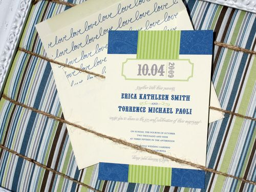 6a00e554ee8a2288330120a8c1824f970b 500wi Erica + Torys Modern Country Wedding Invitations