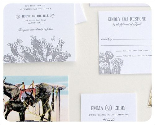 6a00e554ee8a2288330120a95030b3970b 500wi Chris + Emmas Vintage Texas Cactus Wedding Invitations