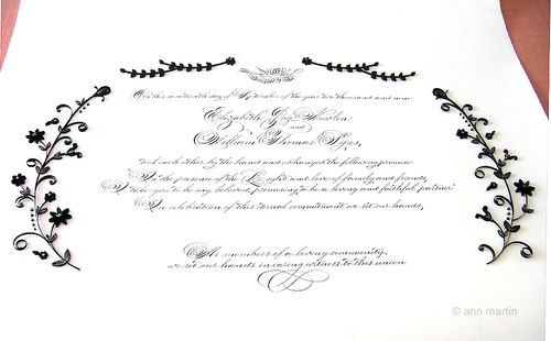 6a00e554ee8a228833012875c8a132970c 500wi Quilled Marriage Certificate