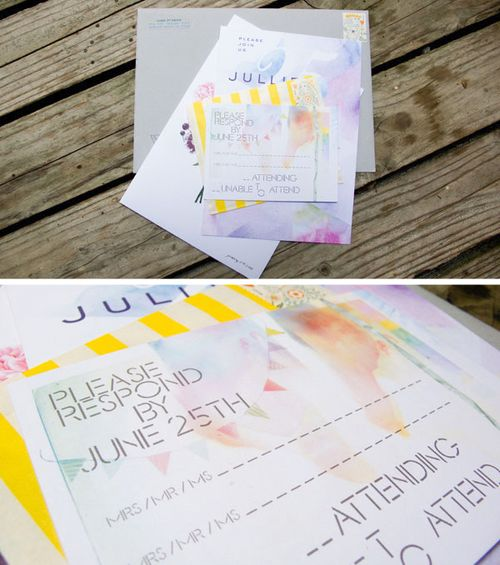 6a00e554ee8a2288330128765e7398970c 500wi Watercolor + Anemone Wedding Invitations