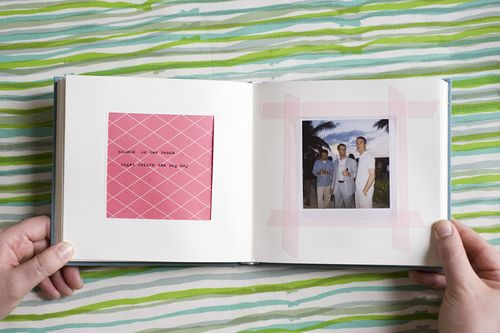 6a00e554ee8a228833012876fad79d970c 500wi Jen + Dan — Wedding Scrapbook + Polaroid Album