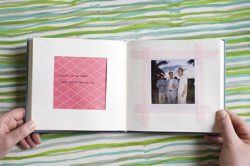 6a00e554ee8a228833012876fad79d970c 500wi Jen + Dan — Wedding Scrapbook + Polaroid Album