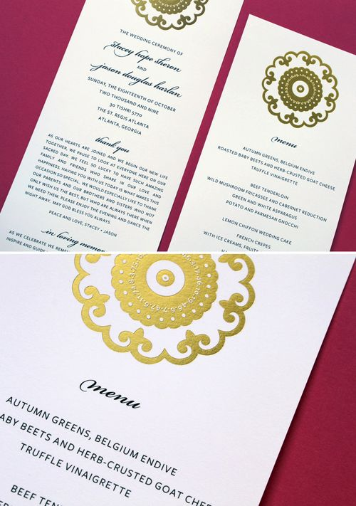 6a00e554ee8a2288330128773f796a970c 500wi Stacey + Jasons Modern Yellow and Gold Wedding Invitations