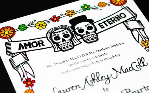 6a00e554ee8a2288330133ec7cd6fe970b 500wi Dia de los Muertos Wedding Invitations