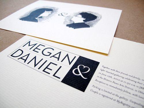6a00e554ee8a2288330133ed6e4d93970b 500wi Megan + Daniels Quirky Black and White Invitations
