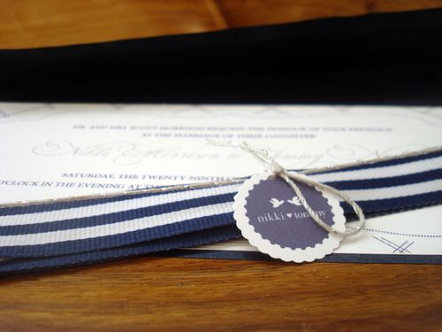 6a00e554ee8a22883301347fa6a487970c 500wi Nikki + Tommys Nautical Blue and White Wedding Invitations