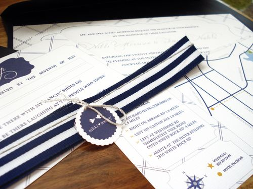 6a00e554ee8a22883301347fa6a607970c 500wi Nikki + Tommys Nautical Blue and White Wedding Invitations