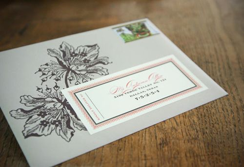 6a00e554ee8a22883301347fcfbb25970c 500wi Vintage Inspired Coral + Pewter Wedding Invitations