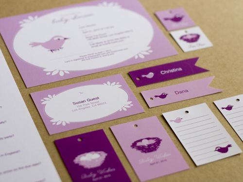6a00e554ee8a22883301347ffea61e970c 500wi Pink + Purple Baby Shower Invitations