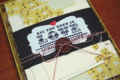6a00e554ee8a2288330134803f22fb970c 500wi Lehua + Ignacios Beatles Inspired All You Need is Love Wedding Invitations