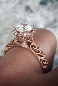 33 Sophisticated Vintage Engagement Rings To Prove Your ...