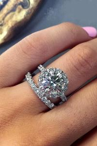 24 Excellent Wedding Ring Sets For Beautiful Women | Oh So ...