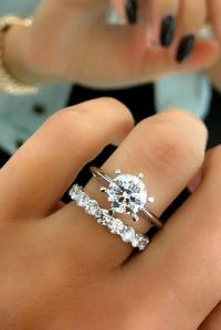 42 Excellent Wedding Ring Sets For Beautiful Women | Oh So ...