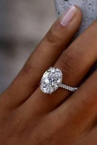 36 Oval Engagement Rings That Every Girl Dreams | Oh So ...
